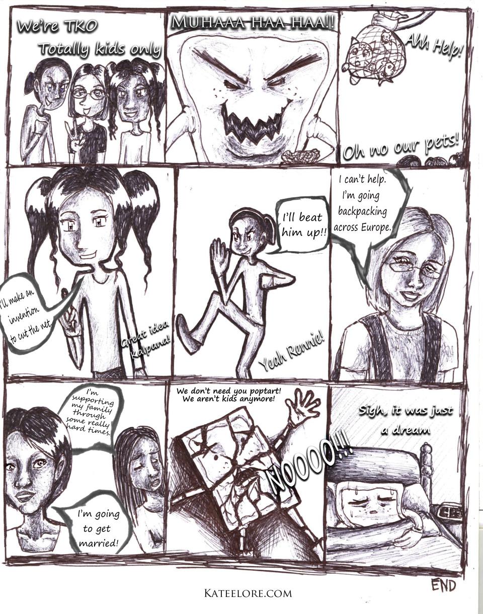 Melancholy Evil Poptart two