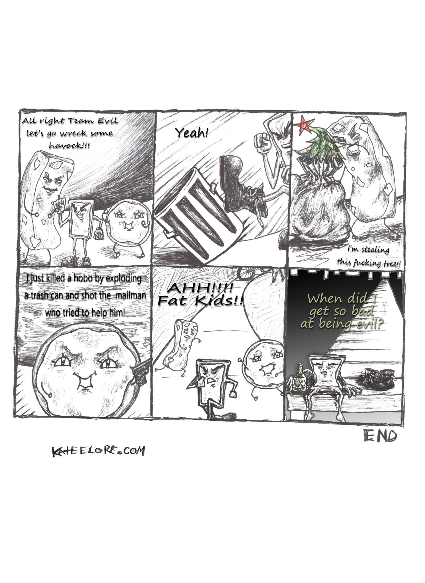Melancholy Evil Poptart KateELore.com